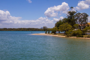 Chamber's Island in the Maroochy River